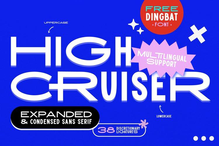 High Cruiser | Modern & Bold Sans