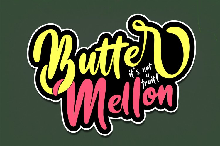 Butter Mellon example image 1