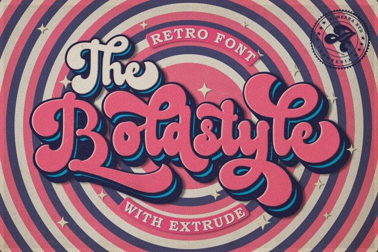 The Boldstyle | Retro Script example image 1