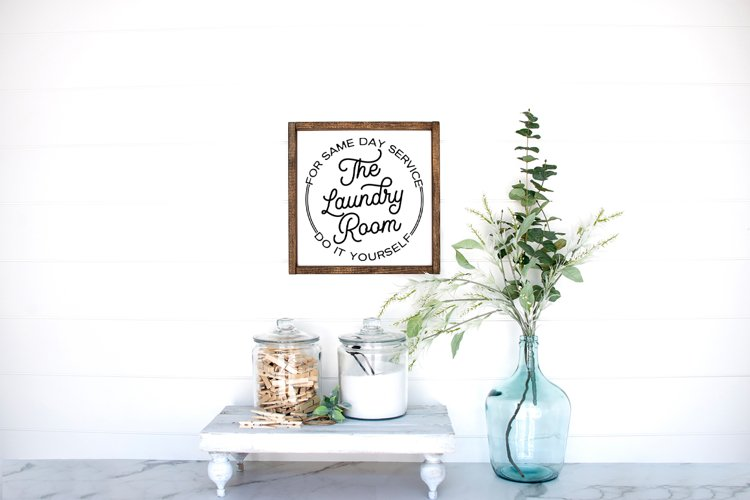 Laundry Room Decor SVG - Laundry Today Or Naked Tomorrow example 1