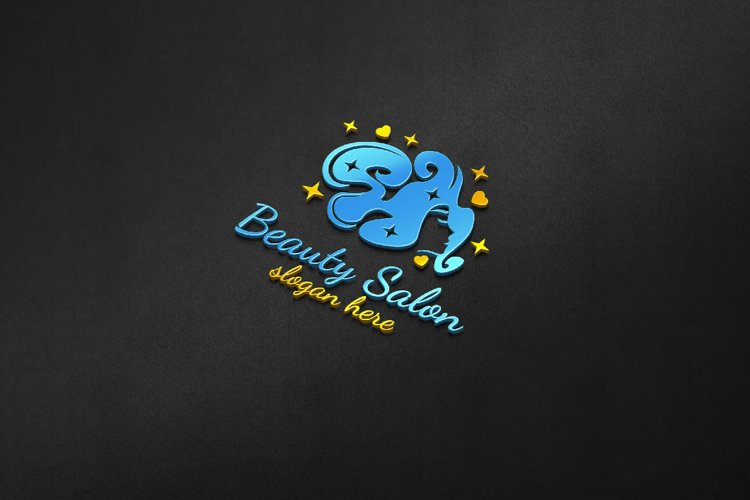 Beauty Salon Logo 5 example image 1