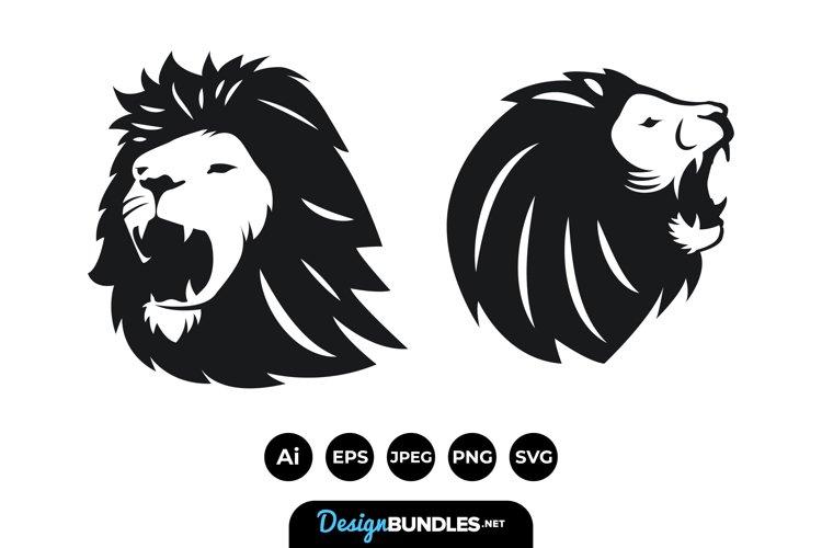 Lion Head Illustrations example image 1