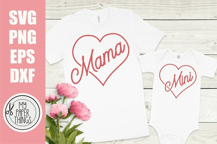 Mommy and me svg Bundle | Mama and mini svg Bundle - Free Design of The Week Design24