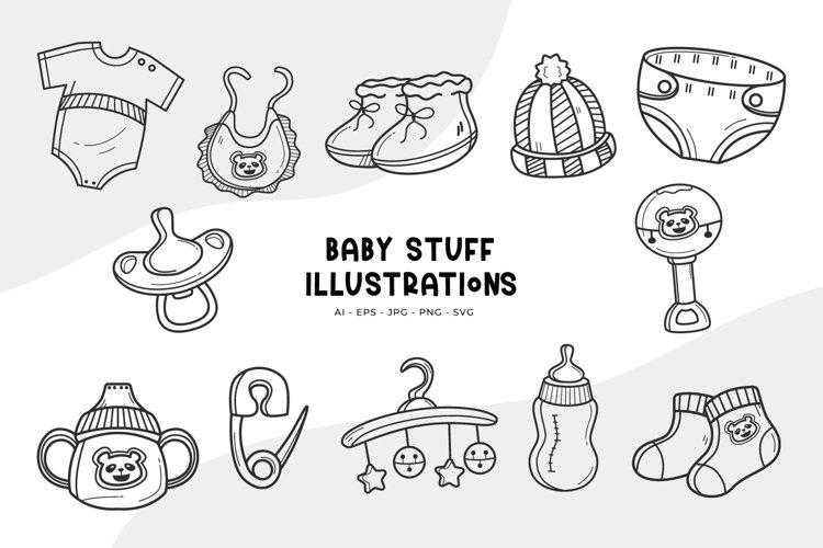 Baby Stuff Illustrations
