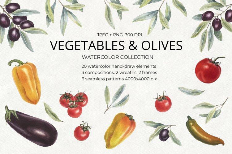 Vegetables & olives example image 1