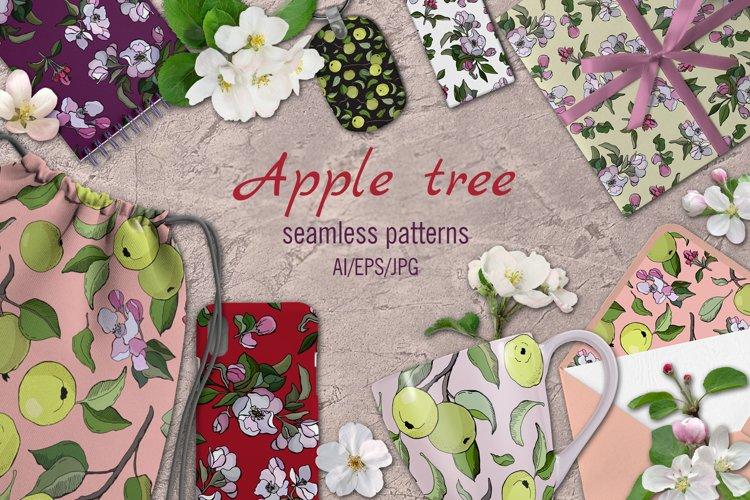 Apple tree - patterns
