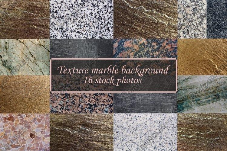 Marble background texture bundle 16 stock photos.