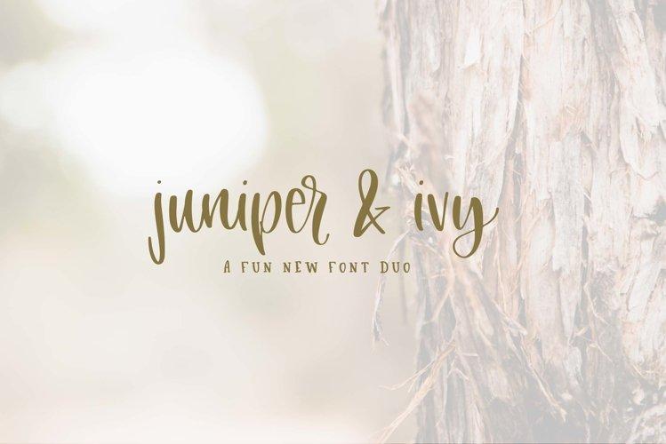 Juniper & Ivy example image 1