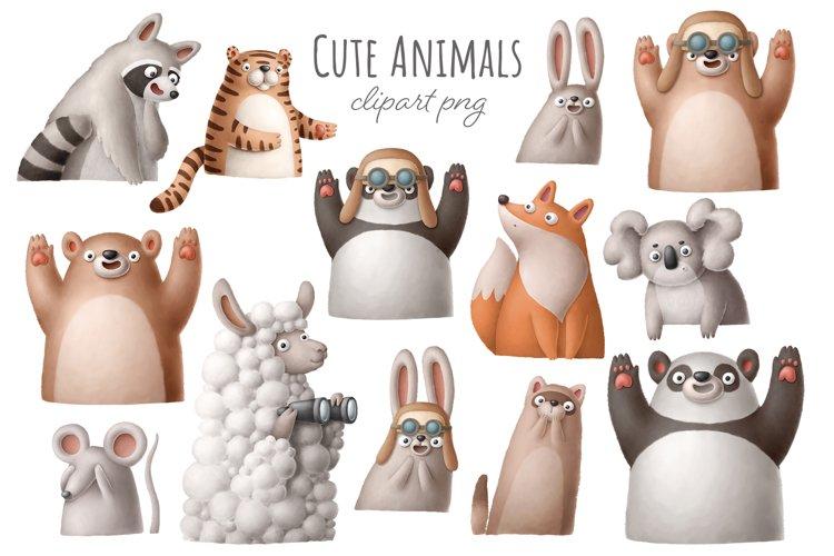 Cute animal clipart
