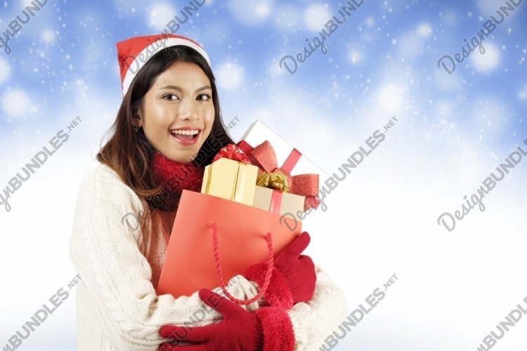 Christmas shopping concept. example image 1