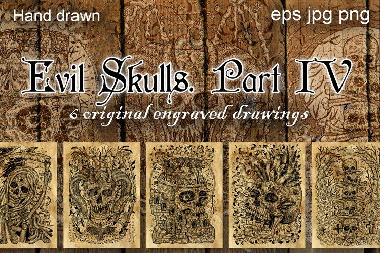 Evil skulls. Part 4