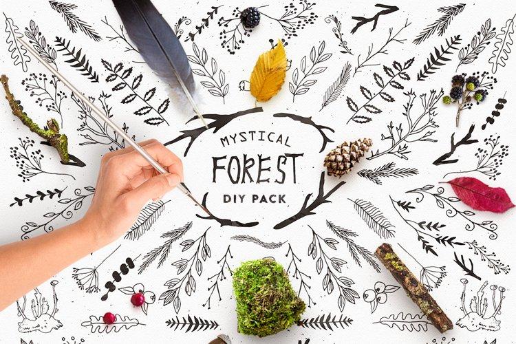 Mystical Forest DIY & Bonus Logos example image 1