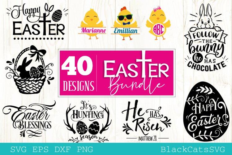 Easter Bundle SVG 40 designs example image 1