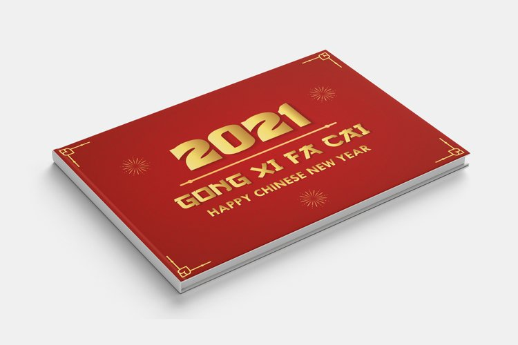 Elegant Happy Chinese New Year 2021 and GONG XI FA CAI