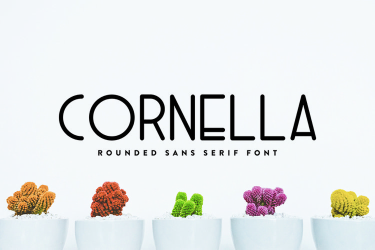 Cornella - Font Family example image 1