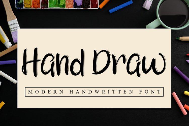 Hand draw example image 1