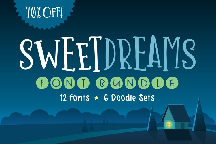 Sweet Dreams Font Bundle example image 1