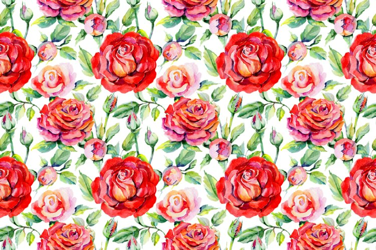 Roses PNG watercolor flower set - Free Design of The Week Design2