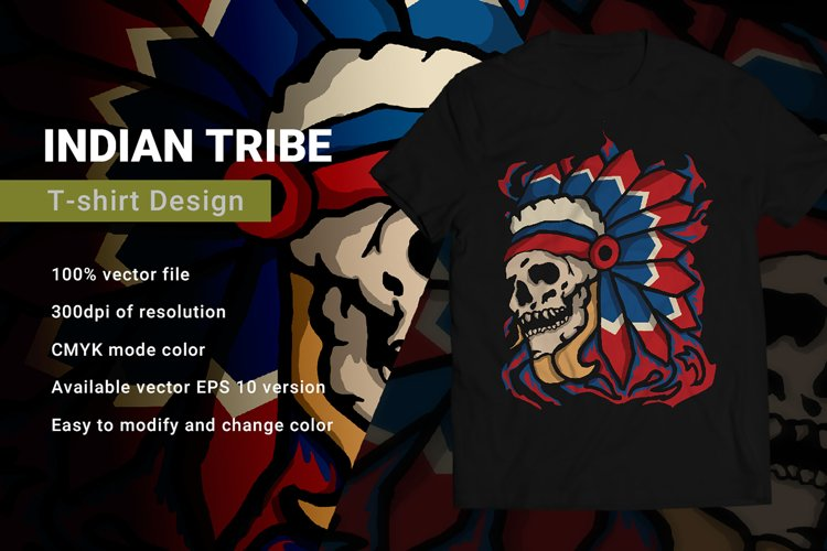 Indian Tribe | T-Shirt Design example image 1