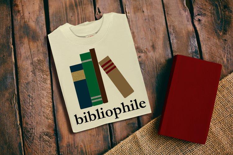 Bibliophile SVG File