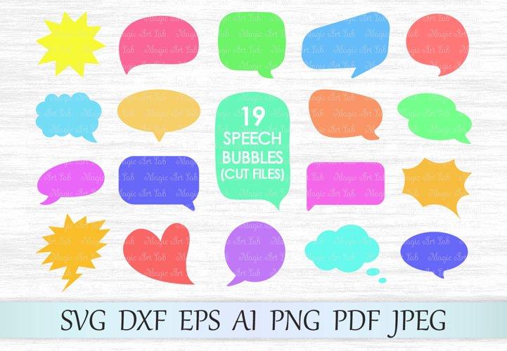 Speech bubble svg file, Bubbles svg, Chat bubble svg file, Chat cut file, Thought bubble cut file, Bubble bundle, Comment window svg, Dialog