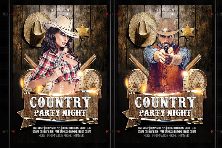 Country Party night example image 1