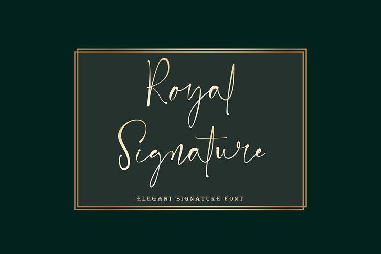 Royal Signature example image 1