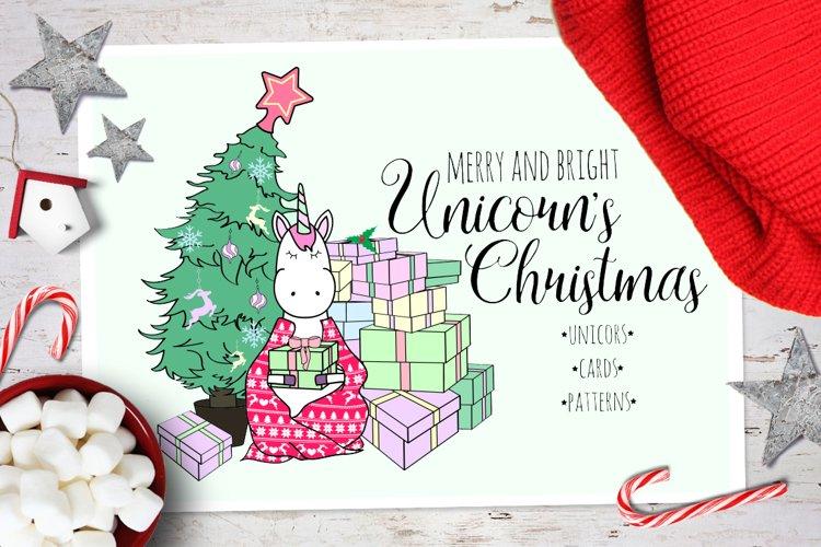 Unicorns Christmas