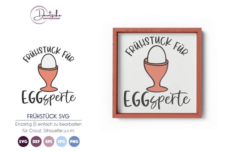 Eggsperte Frühstück SVG   Gekochtes Ei SVG example image 1