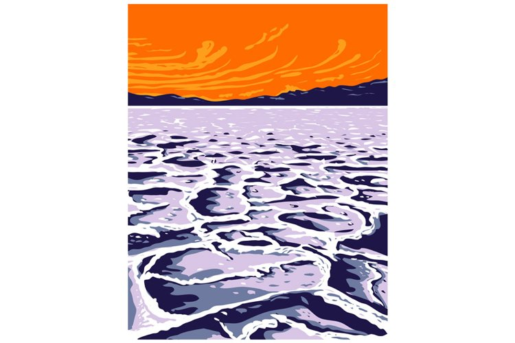 The Badwater Basin in Death Valley National Park Inyo County example image 1