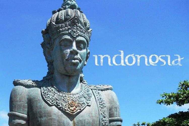 FTF Indonesiana Sketch Book Serif PRO example image 1