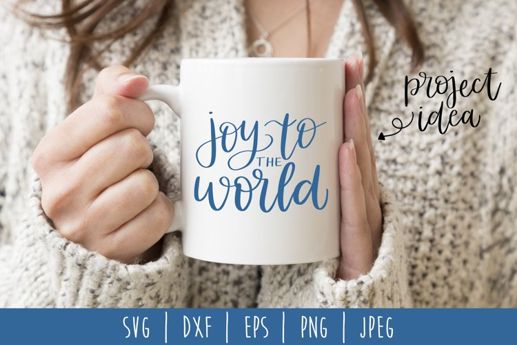 Joy to the World SVG, DXF, EPS, PNG, JPEG