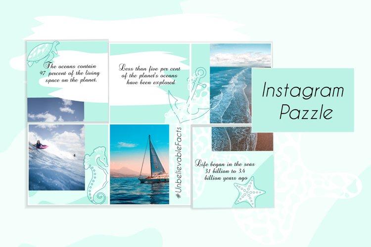 Sea Instagram puzzle