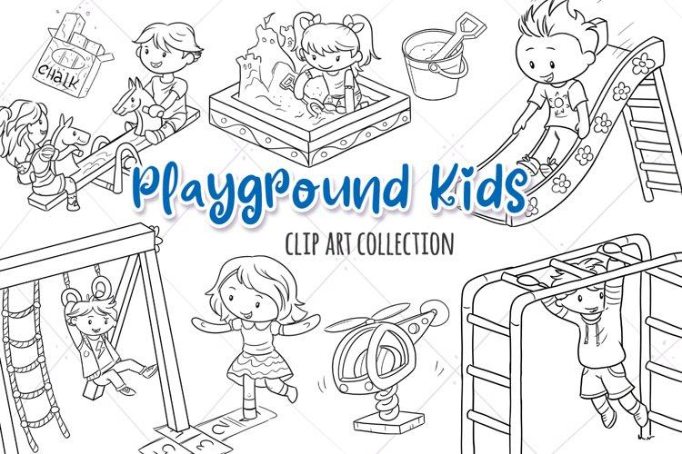 Playground Kids Digital Stamps