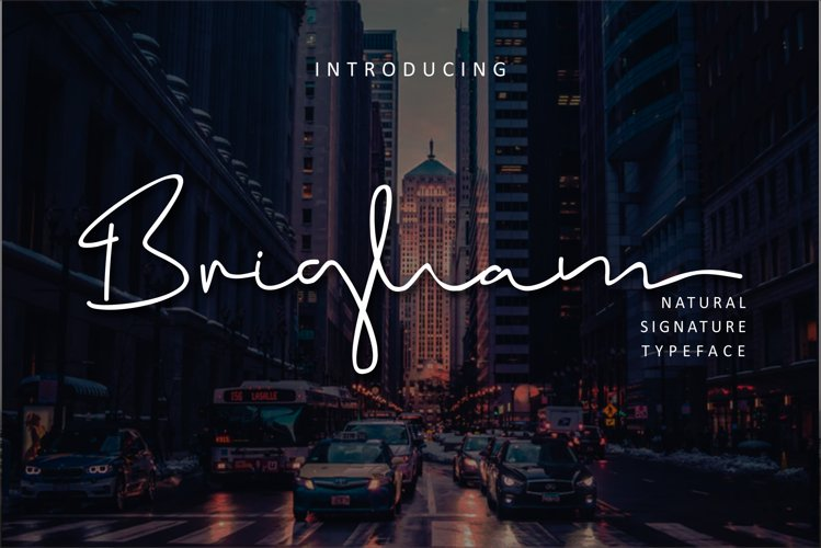 Brigham Signature Script example image 1