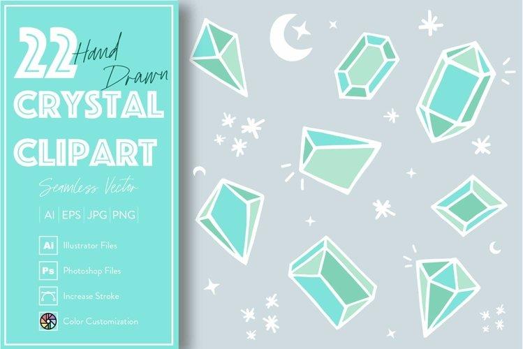 22 Crystal Diamond Elements example image 1
