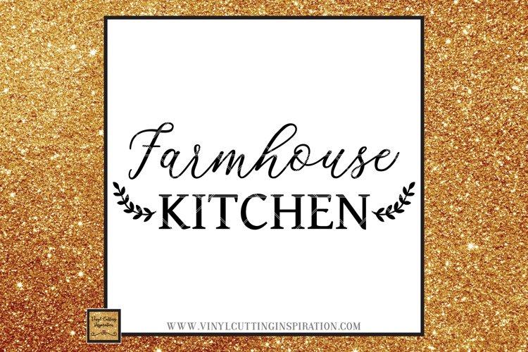 Farmhouse Kitchen Svg, Country Svg, Farmhouse Cutting files