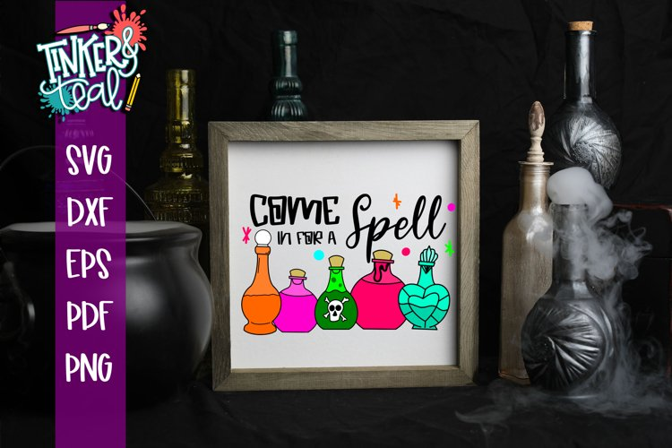 Come In For A Spell Witch SVG