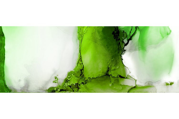 Art Abstract painting blots horizontal background.