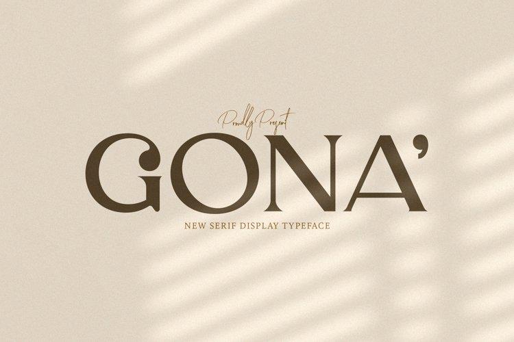 Gona example image 1