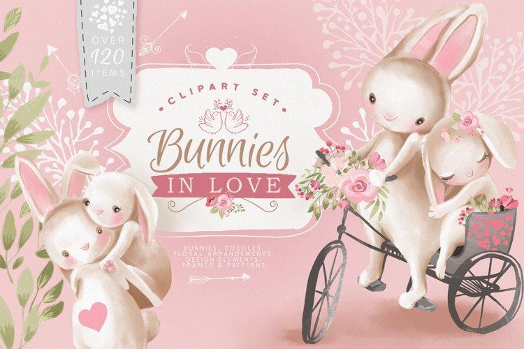 Bunnies In Love example image 1