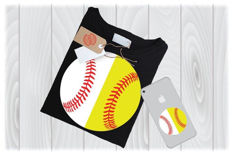 Softball/Baseball SVG Files for Cricut Designs | Sport SVG example image 1