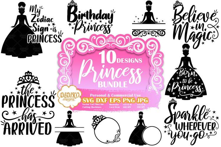 Princess SVG Bundle | Black Girl SVG | Princess Quotes SVG
