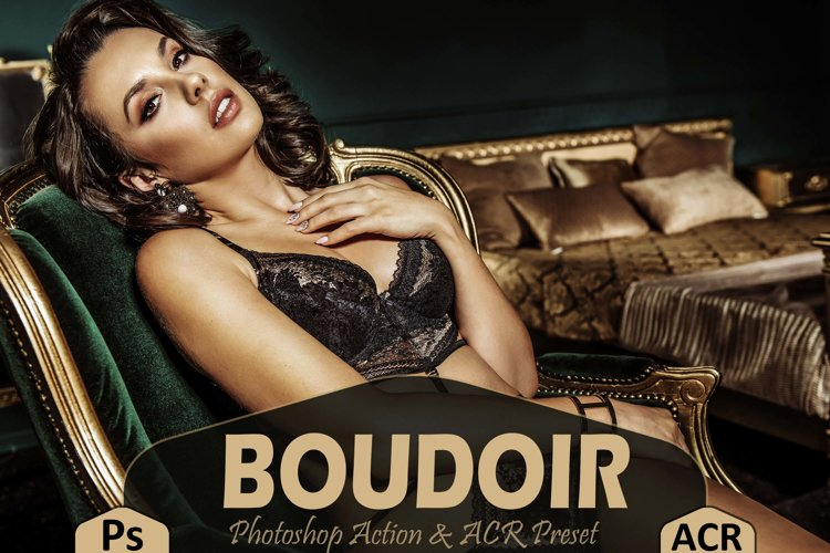 10 Boudoir Photoshop Actions And ACR Presets, Sexy Theme example image 1