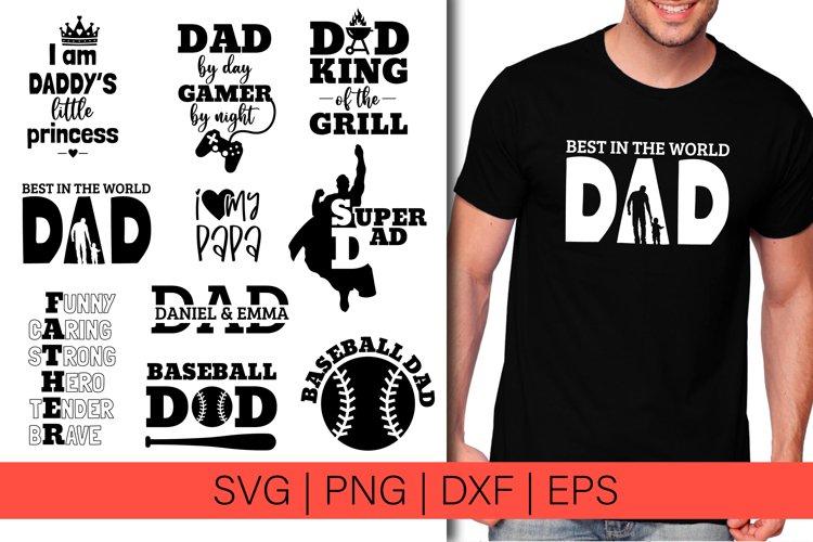 Fatherss Day SVG Bundle Dad svg