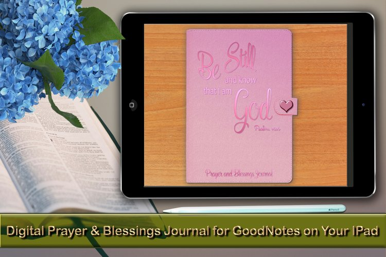 Digital Prayer and Blessings Journal for GoodNotes on Ipad