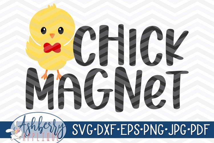 Chick Magnet SVG/DXF Cut File