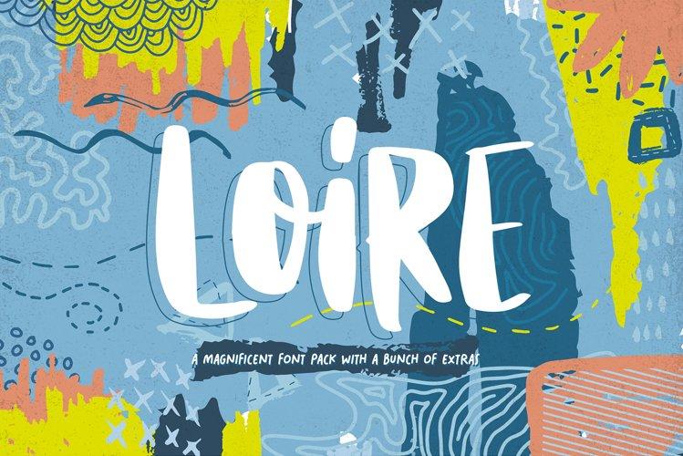 Loire Font Pack & Graphic Bundle example image 1