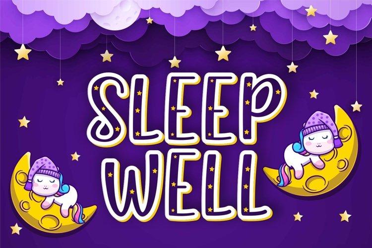 SLEEP WELL example image 1