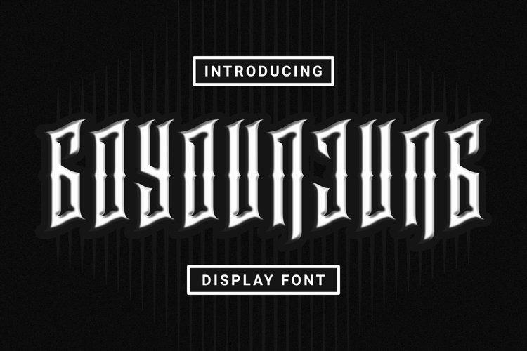 Web Font GOYOUNJUNG Font example image 1